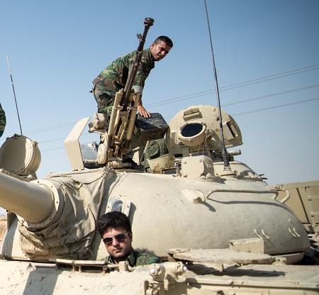 الجيش الكردي