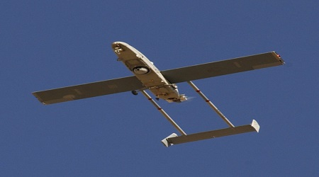 اعتراض طائرة سورية بدون طيار فوق الجولان الإسرائيلي