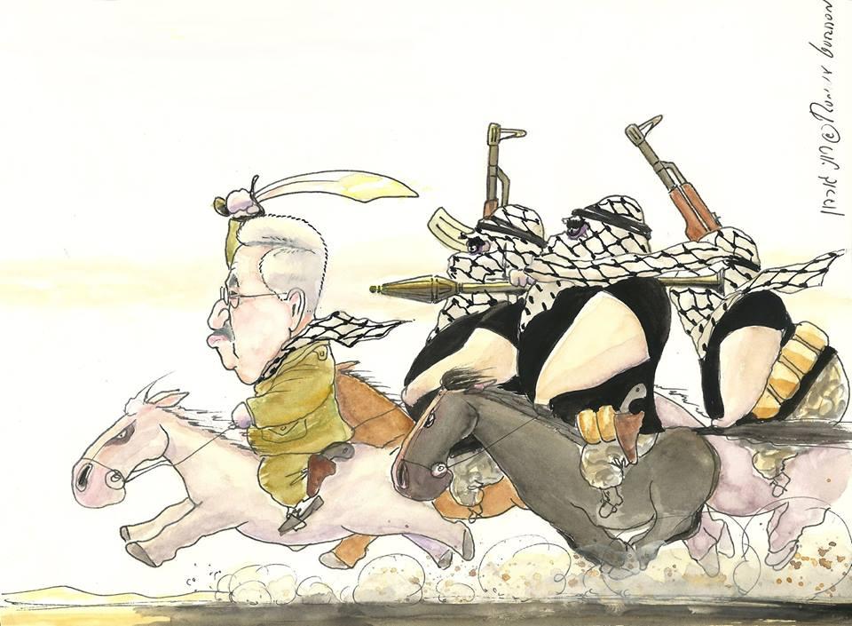 محمود عباس إرهابي فاسد