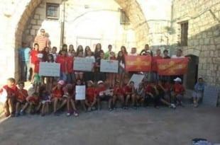 الآراميون يفتتحون أول مخيم صيفي بعد الاعتراف رسميًا بقوميتهم في إسرائيل