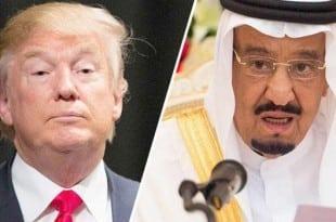 ترامب يهاجم السعودية